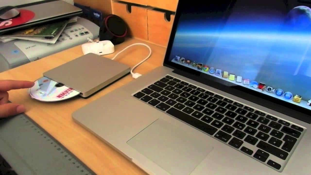 How to install software on a laptop without CD drive