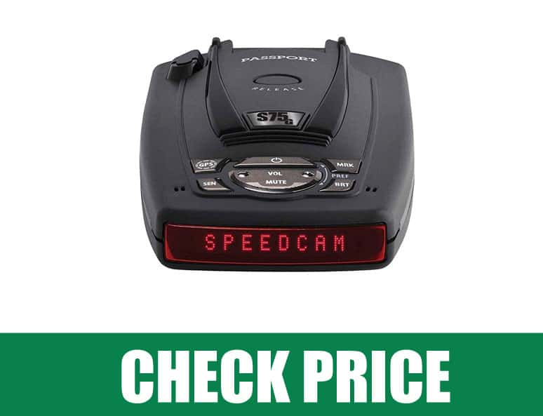 Escort Passport S75 (Best  Radar Detector with GPS with Auto Lock )